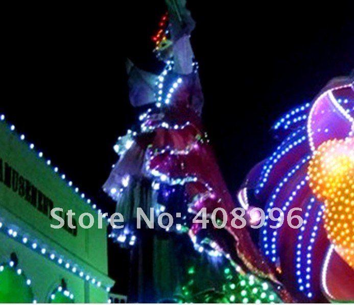 Светодиодный светящееся платье для вечерние/Карнавальные Платья/светящиеся костюмы/парк развлечений серии 01
