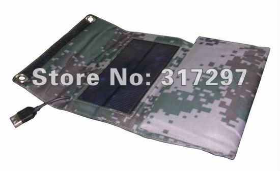 Free Shipping! 1pc/lot 7W Foldable Solar Charger for Mobilephone