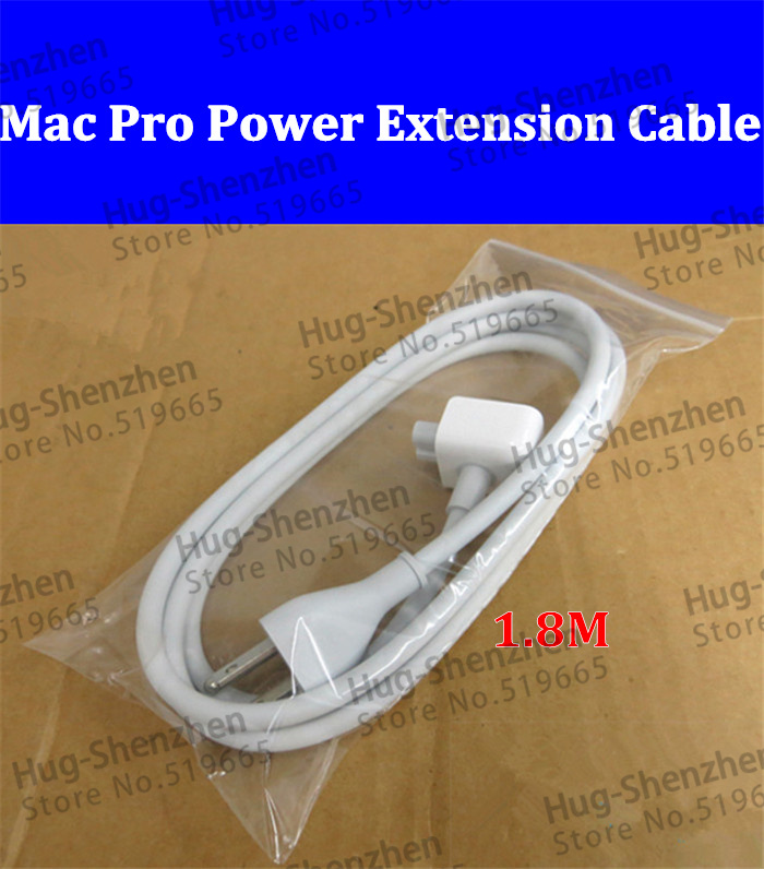 US Plug AC Power Adapter Extension Wall Cable Cord for Apple Mac MacBook Pro--2pcs/lot