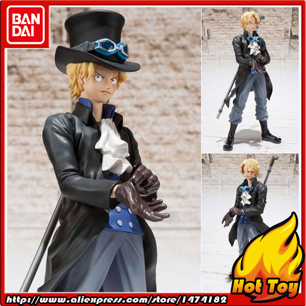100% Original BANDAI Tamashii Nations Figuarts ZERO Action Figure - Sabo (New World ver.) from ONE PIECE original bandai tamashii nations robot spirits exclusive action figure rick dom char s custom model ver a n i m e gundam