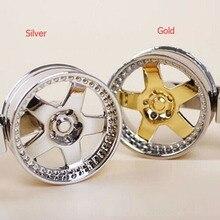 Free shipping 1 pcs High quality Cool Luxury Metal Keychain Car Key Chain Key Ring Wheel Hub Pendant Jewelry New