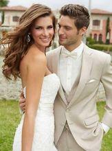 2016 Custom Made Blue 3 Pcs Men Slim Fits Suits  Men's Wedding Suits Bridal Groom Suits Formal Tuxedos