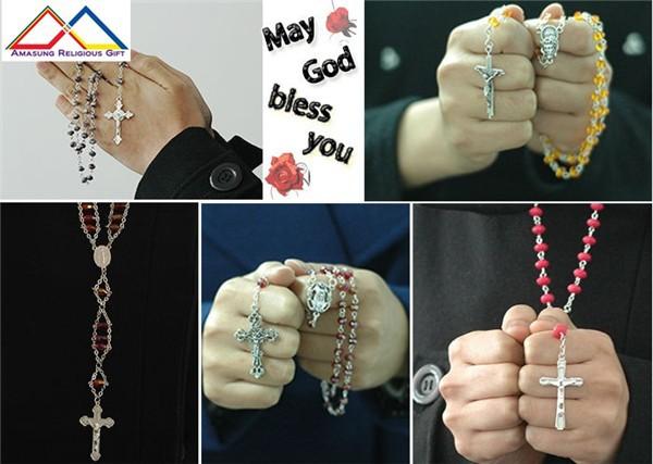 Catholic Holy Rosary Necklace