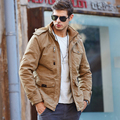 New Winter Jacket Men Casual Thick Warm Jackets Men's Outwear Parkas Plus size 4XL Down Coats Windbreak Snow Military Parka Men