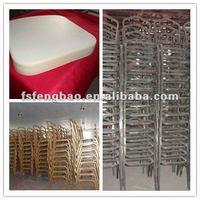 укладка алюминия современный банкетный стул для банкета / гостиничной мебели