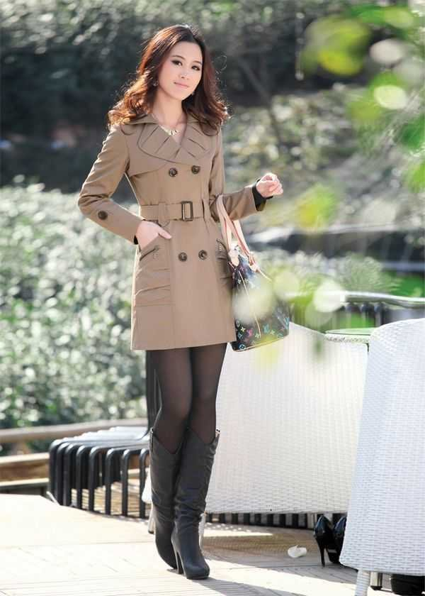 Aliexpress.com : Buy Trench coat Women girl Winter Cotton ...