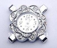 100 шт./лот цветок Alma часы заголовок часы лицо выводы, женщины браслет часы голову своими руками 1030