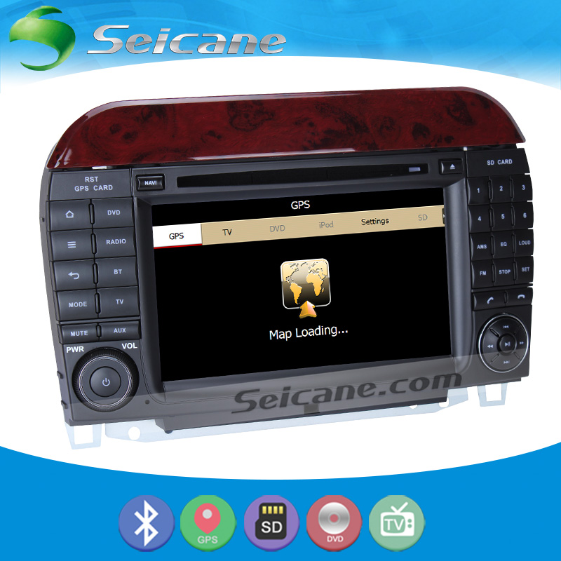 Seicane s127509d cheap gps navigation system radio for for Mercedes benz navigation system