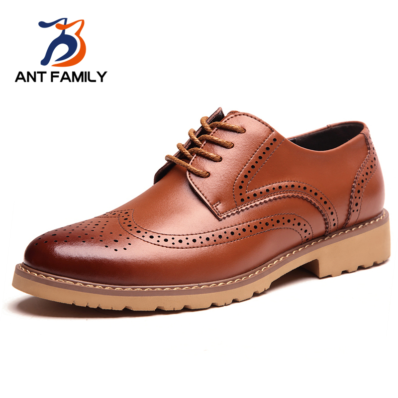 Hot Sale Fashion Shoes Men 2016 Genuine Shoes British Style Men Luxury Brand Vintage Oxfords Spring Autumn Casual Zapatillas от Aliexpress INT