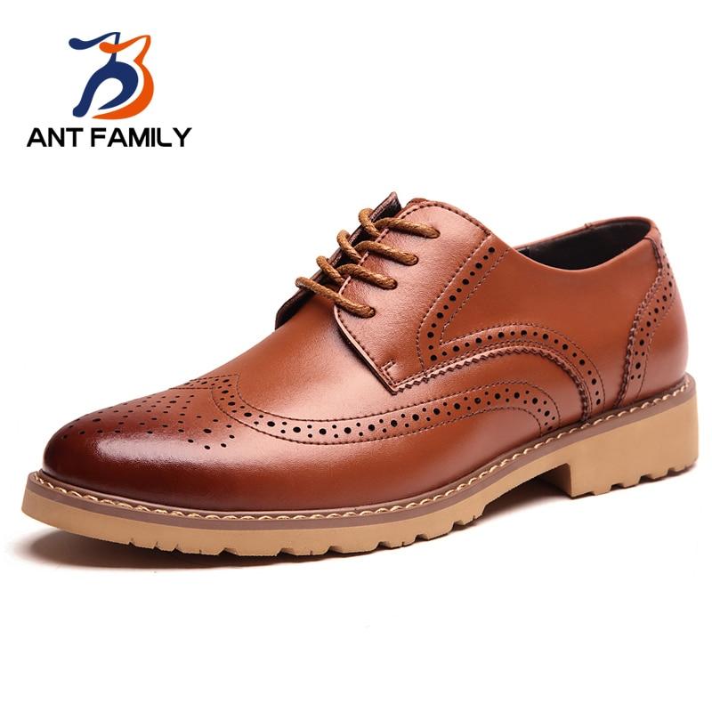 Hot Sale Fashion Shoes Men 2016 Genuine Shoes British Style Men Luxury Brand Vintage Oxfords Spring Autumn Casual Zapatillas от Aliexpress INT