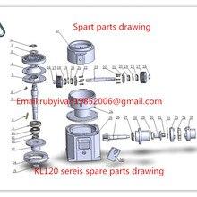 8mm die of KL200 series  pellet machine, 6mm die for make wood pellet and feed pellet