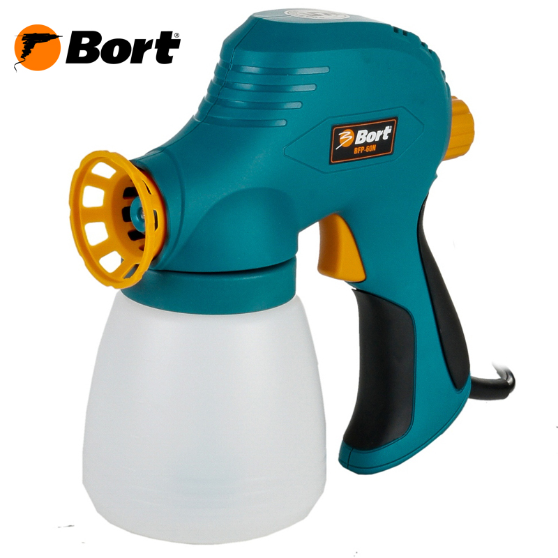 Paint spray gun Bort BFP-60N цена 2017