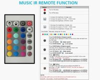 9 каналов RGB с ик музыки и звуковой контроллер; dc12 в вход