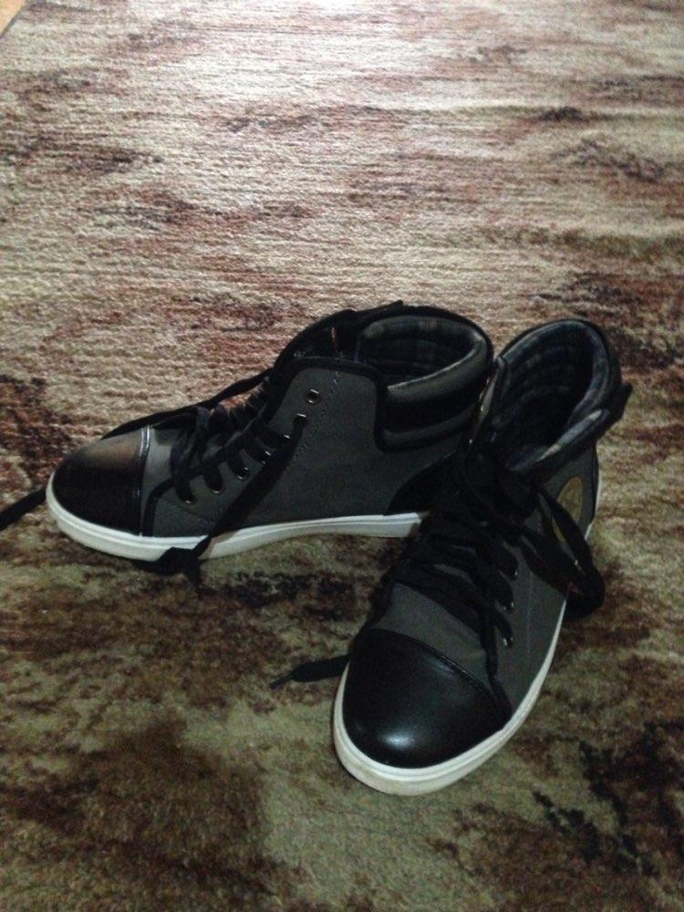 Мужские кроссовки-ботинки с Алиэкспресс