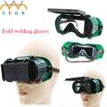 Флип-Объектив Глаз сварочные Очки, защитные очки, дышащий, прочный, плазменная резка, шлифовка, анти-брызги, рабочих glasse