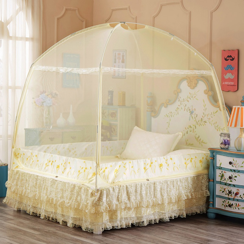 Mosquito net curtain moustiquaire lit bed net students bed - Bed canopies for adults ...