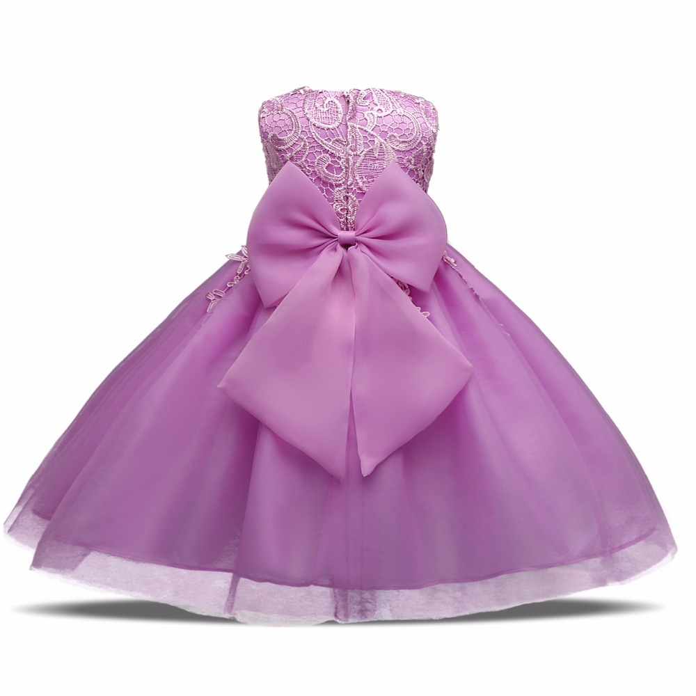 Baptism Summer Girls New Party Infant Dress 1 year