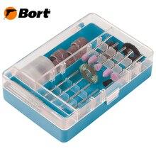 Набор насадок для гравера Bort BGS-42 (в комплекте 42 предмета в удобном кейсе)