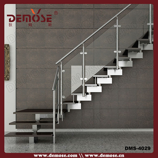 Indoor Steel Keel Glass Stair Design Designer Evening Wear For | Glass Staircase Near Me | Baluster | Spiral Staircase Design | Stair Treads | Frameless Glass | Staircase Railings