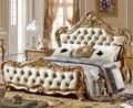 Elegant Design of king size leather bed