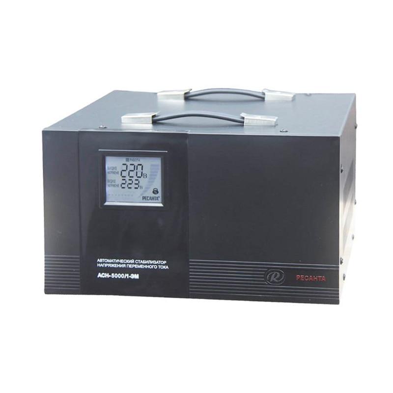 Voltage stabilizer RESANTA ASN-5000/1-EM dps3012 constant voltage current step down programmable power supply voltage converter lcd voltmeter communication function