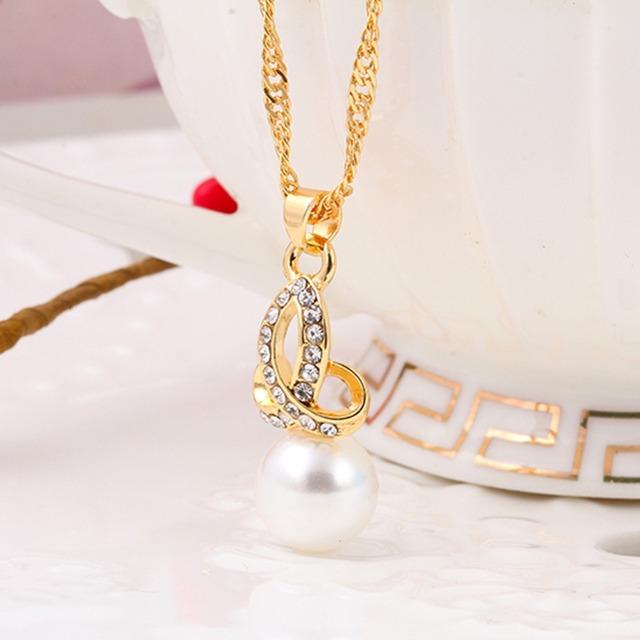 Charming Wedding Jewelry Set Snow Imitation Pearl