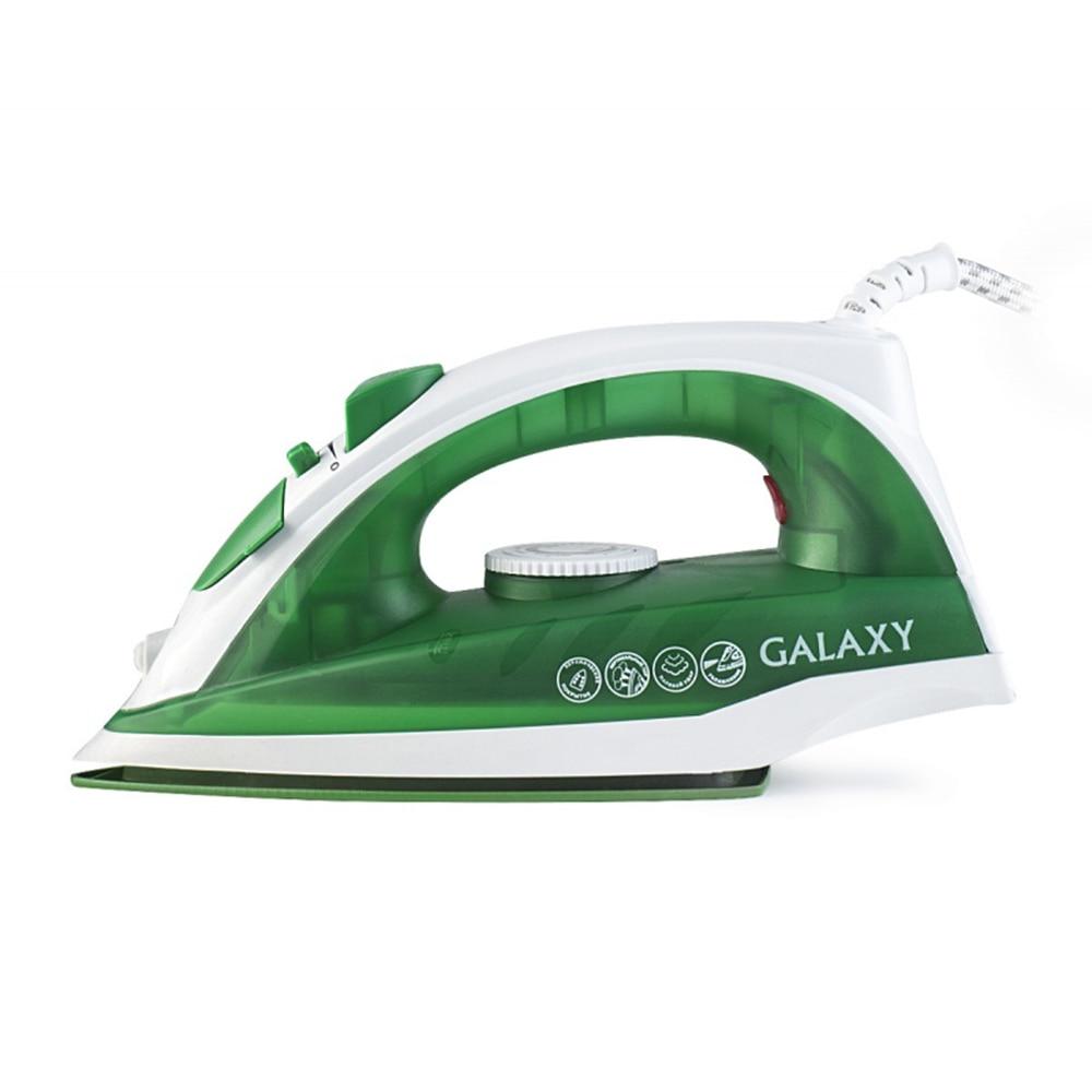 Steam iron Galaxy GL 6121 green утюг galaxy gl 6121