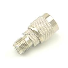 Мини UHF-TNC адаптер TNC штекер к UHF гнезду прямой разъем