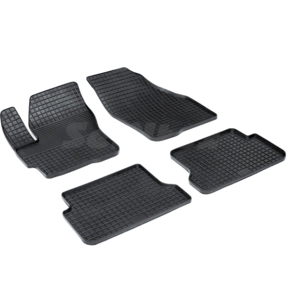 Rubber grid floor mats for Mazda 3 BK 2003 2004 2005 2006 2007 2008 2009 Seintex 00193 green motorcycle part cargo net tank luggage baggage helmet mesh fit for buell xb9 all models 2003 2004 2005 2006 2007 2008 2009