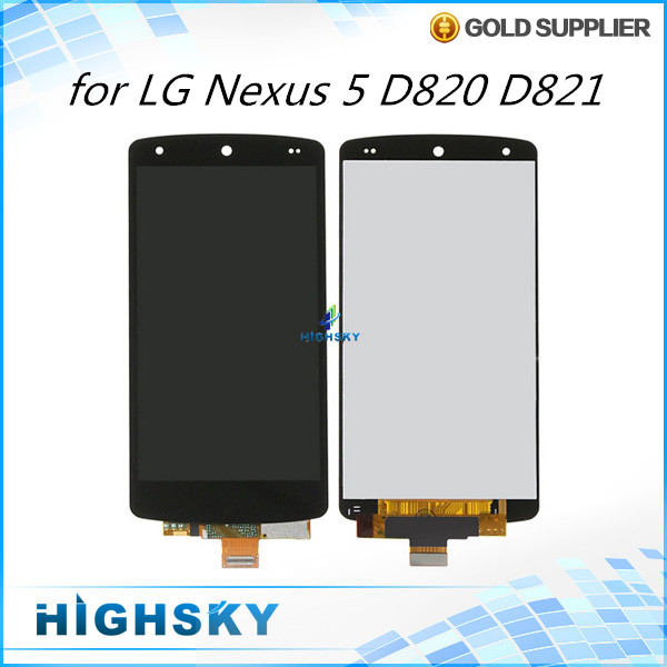 Lcd screen For LG Google Nexus 5 D820 D821 display + touch digitizer assembly replacement parts 10 pcs/lot free DHL EMS shipping 5pcs for lg google nexus 5 lcd display touch screen digitizer assembly with frame d820 d821 replacement parts