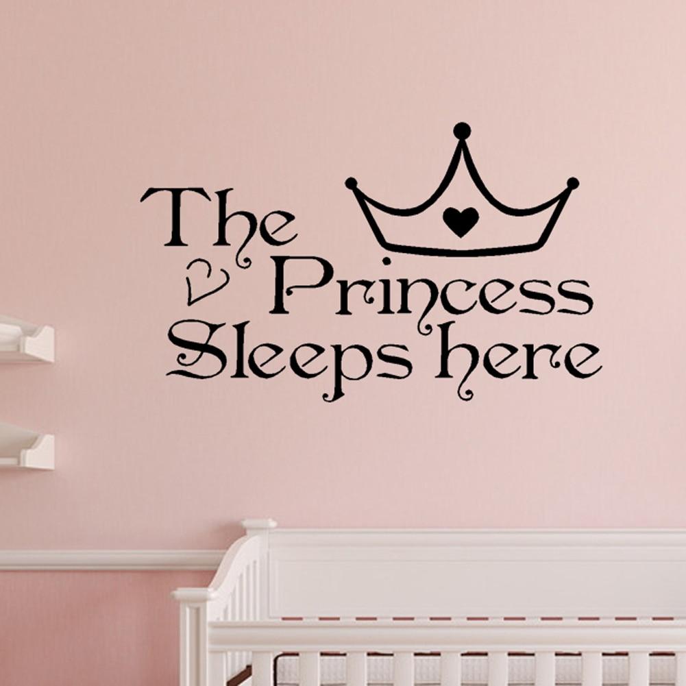 Princess Wall Art popular princess wall art decals-buy cheap princess wall art