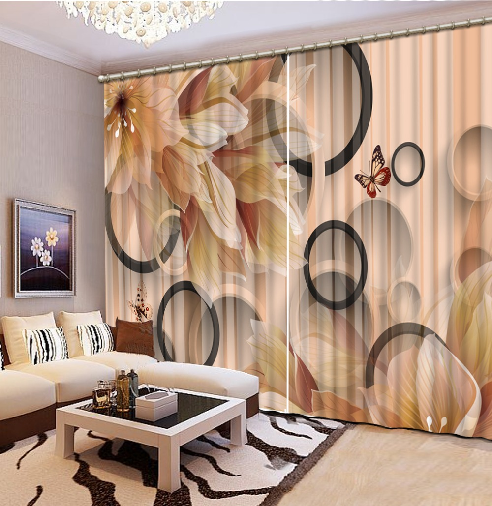 Permalink to Home decor custom curtains modern fashion decor home decoration for bedroom 3d flower lily Classic Home Decor