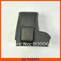 бесплатная доставка кожаный чехол мешок для Sony НИС-С3 ncxc3 18 - 55 мм объектив