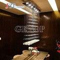 T el mejor precio modernos candelabros cristal brillo cristal de la lámpara del comedor Droplight Pandent lámpara de luz led