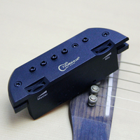 Skysonic T 903 magnetic soundhole pickup Equipped with Microphone for solo, tapping and few bands guitar pick holder