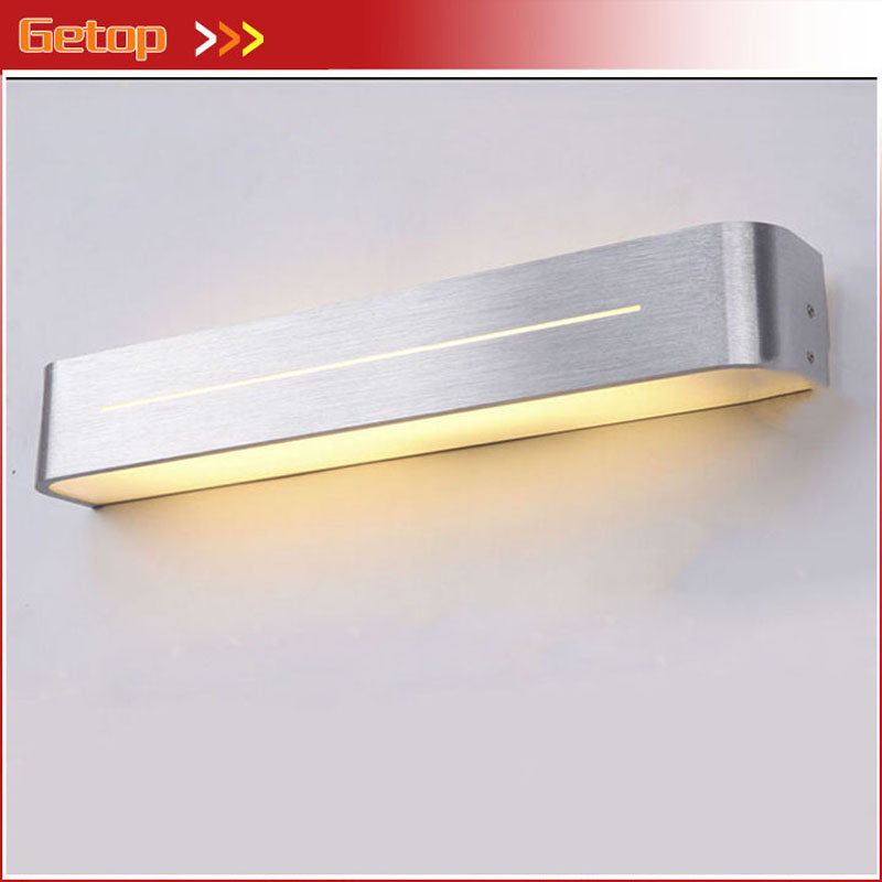 ZX Modren Acryl LED Mirror Wall Lamp Waterproof and Anti-fog Dressing Room Makeup Mirror Light Fixture for Bathroom Toilet modern creative acryl aluminum led mirror lamp for bathroom living room waterproof anti fog 40cm 12w mirror light 2130