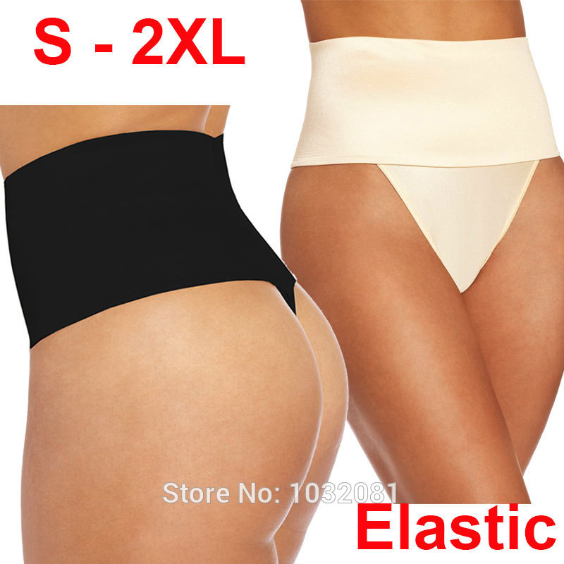 ee9204715e9 2015 S 2XL plus size post partum women elastic underwear Seamless Mid Waist  Thong Shaper butt tummy Control panties pant E48B on Aliexpress.com