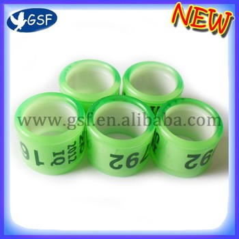 Customized drawing plastic pigeon foot ring core plastic with cheap price