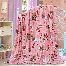 Thick Winter Blanket Coral Fleece Blankets Warm Flannel Sheets Blankets Single Double Fleece Blanket Bedclothes bed linings