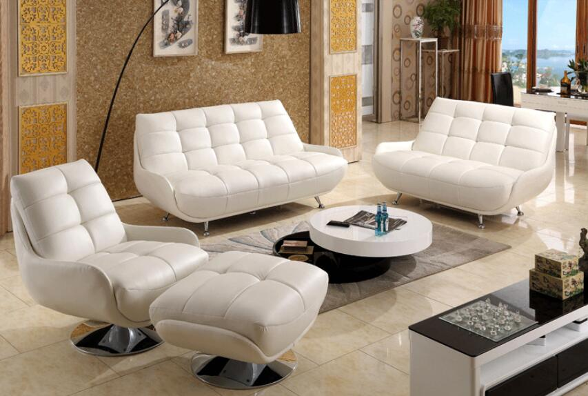 New Beauty Top Quality Italy Style Leather Sofa 0414-8822