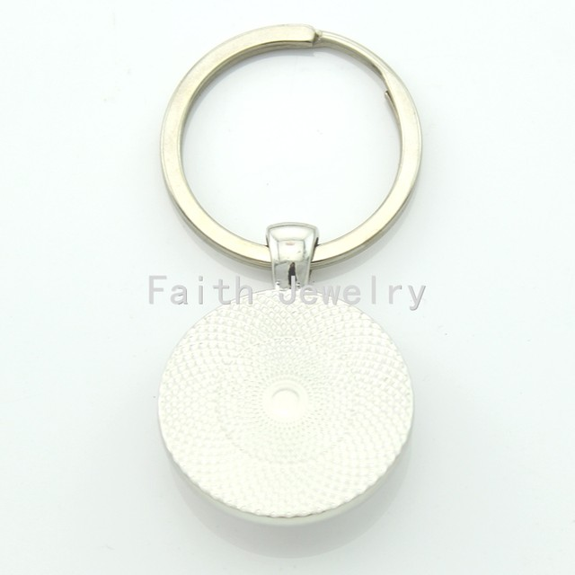Online Shop Tafree Wholesale Retail Vintage Men Key Chain Ring