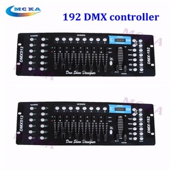 2pcs 192  Channels DMX Disco Console 512 DMX RGB Controller  For Stage Light Night club Party Bar DJ  hot