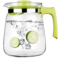 2000 ml Kreatywny BPA Bezpłatne Szkło Owoców Sok Butelka Wody Czajnik Garnek Herbaty