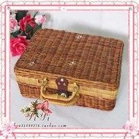 бесплатная доставка ручной ремесел / большой чемодан / / одежда коробки / записи реквизит коробка / для хранения / рождественский подарок