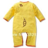 оптовая продажа! новый осень зима девочка мальчик ребенка мультфильма хлопок костюм одежда подходит 0-0.25 лет ребенка combines 18 шт./лот 3 размер 6 стиль