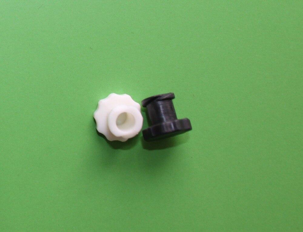 Fora do fio plug conectores do tubo de peças de impressora branco