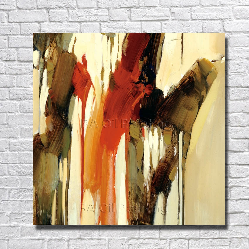 Astonishing Us 11 8 41 Off Abstract Modern Oil Painting On Canvas Abstract Painting Living Room Decor Best Gift Hand Painted Wall Art For House No Framed In Download Free Architecture Designs Embacsunscenecom