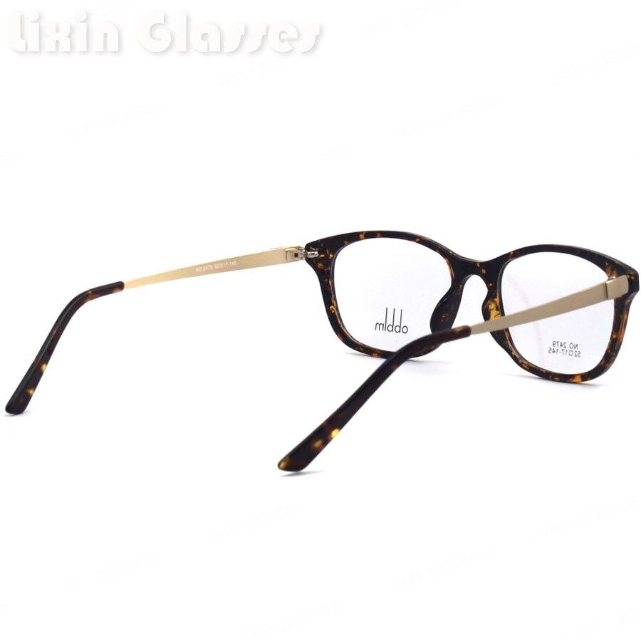 New Good Quality Men Hinge Demi clean lens Glasses Frame/Eyeglasses ...