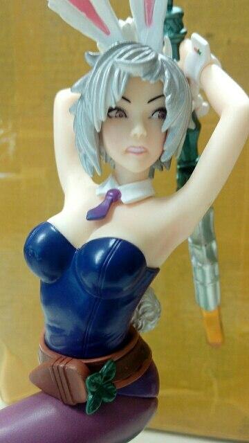 Bunny Riven 1//7 Scale PVC Figure Toy 23cm toys