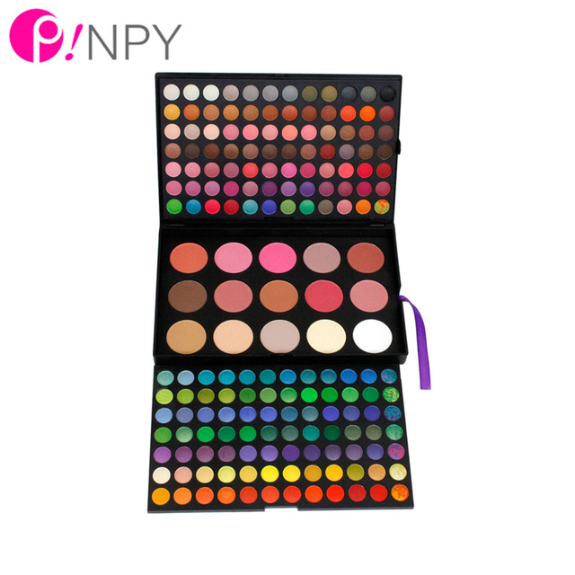 Professional Makeup Eyeshadow Palette Set Camouflage Pro 168 Full Color Gloss Neutral Make Up Eye Shadow Beauty